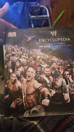 WWE ENCYCLOPEDIA for Sale in Lakeland, FL