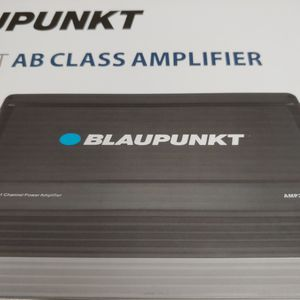 Car amplifier : Brand new BLAUPUNKT 2000 watts 2 Channel ab class amplifier 2 0hm built in crossover 25a×2 fuses remote sub control for Sale in Commerce, CA