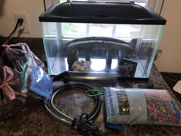 Fish tank aquarium 10 gallons