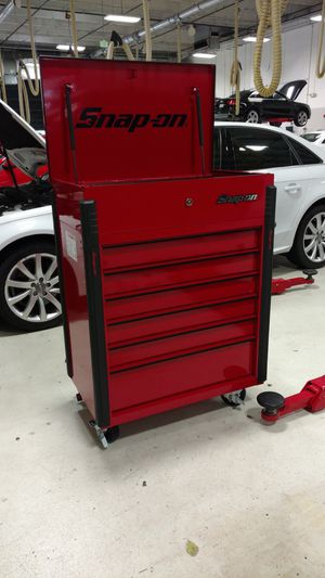 Snap-on Tool Cart KRSC326FPPS Candy Apple Red for Sale in Miami, FL