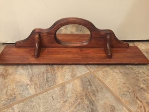 Wood Shelf With Mirror for Sale in Seattle, WA