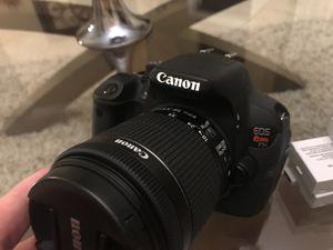 Canon T5i Rebel DSLR camera for Sale in Odessa, FL