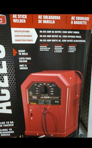 LINCOLN ELECTRIC 225 AMP ARC/STICK WELDER BRAND NEW for Sale in San Bernardino, CA