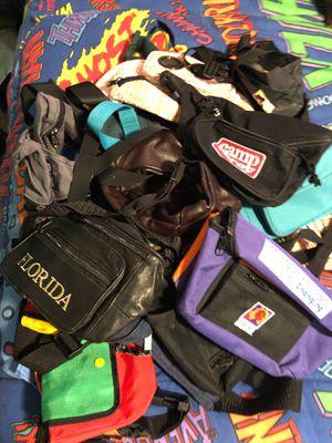 FANNY PACK WAIST BAG BUNDLE 18 TOTAL for Sale in Phoenix, AZ