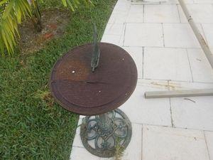 Solar clock antique for Sale in Weston, FL