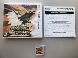 Pokémon Ultra Sun Nintendo 3DS (Best Offer) for Sale in Los Angeles, CA