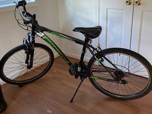 Schwinn Sidewinder Women Mountain Bike, 26-inch Wheels, 21 Speed, Black/Green for Sale in Arlington, VA