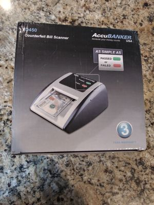 Counterfeit bill scanner for Sale in Lake Elsinore, CA