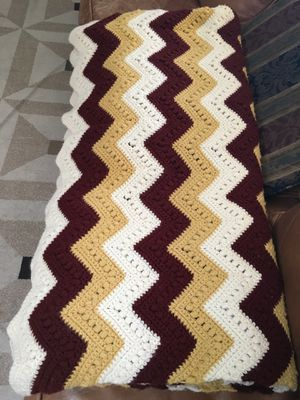 Brand new hand crocheted heavy lap blanket $50 for Sale in Fresno, CA