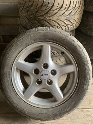 Full set of 245/50R16 Feral wheels on ABS rims for Sale in Port Orchard, WA