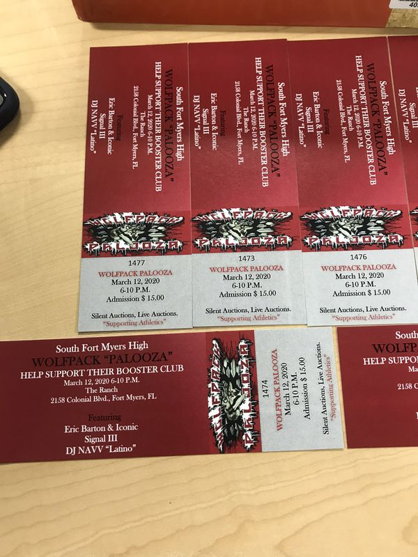 Wolfpack Palooza Tickets At The Ranch!!!!!
