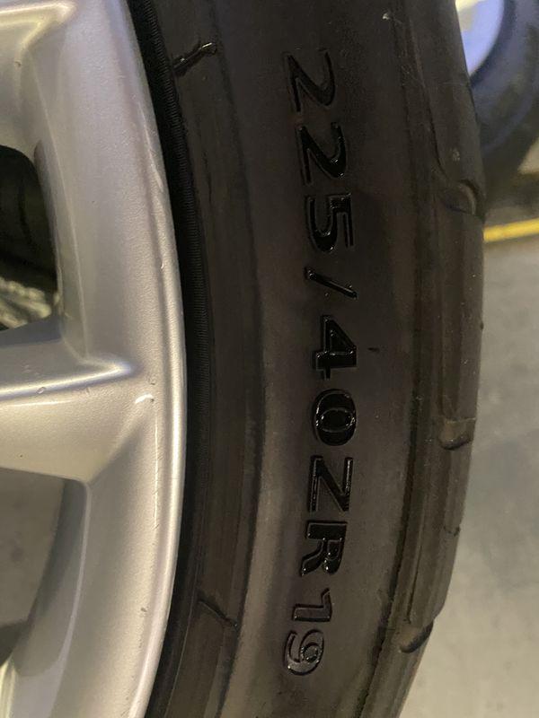 "BMW M Sport 19"" Wheel Staggered"