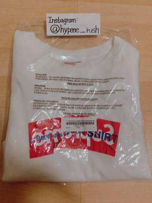 Supreme CDG Crumbled Box Logo Tee Size S (White) for Sale in Walnut, CA