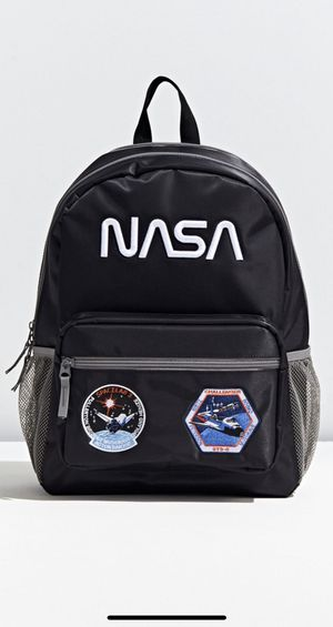 NEW NASA bag Patch Backpack black NIKE North face Patagonia men women for Sale in Los Angeles, CA