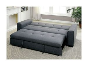 Grey convertible futon sofa bed couch for Sale in Downey, CA