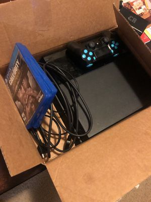 PS4 w/ controller & 2 games for Sale in Atlanta, GA
