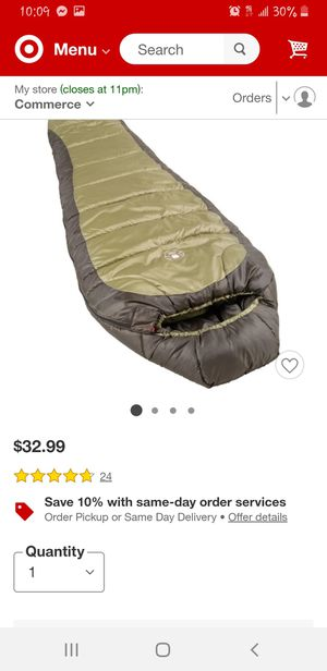 Coleman sleeping bag for Sale in Bell, CA