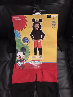 NEW MICKEY MOUSE COSTUME SIZE 2t for Sale in Columbus, OH