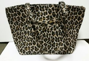 Leopard Tote Bag - New, fully lined with zippered compartment for Sale in San Diego, CA