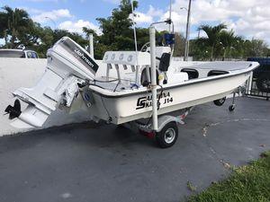 Skiff Boat Carolina skiff J14 (best offer takes it) for Sale in Hialeah, FL