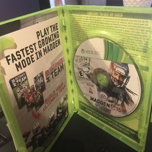 Madden 15 Xbox 360 Game for Sale in Fort Lauderdale, FL