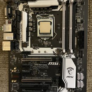 i5 6600k + Z170A MSI Motherboard for Sale in San Diego, CA