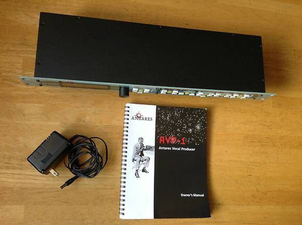 Antares Rack Mountable Professional Vocal Producer Unit with original factory box - Brand new / Never used