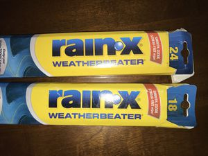 Rainex Windshield wipers NEW IN BOX for Sale in Hollywood, FL