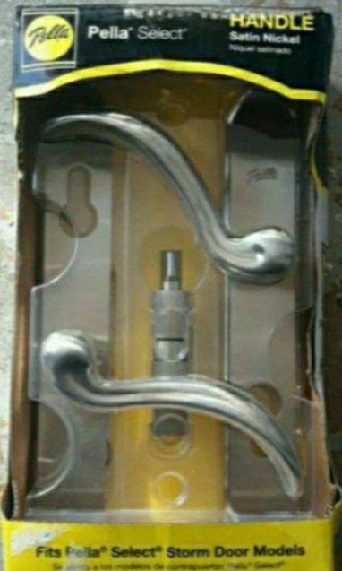 Storm door lock