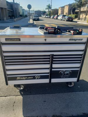Snapon 60 inch epic tool box top not included for Sale in La Habra Heights, CA