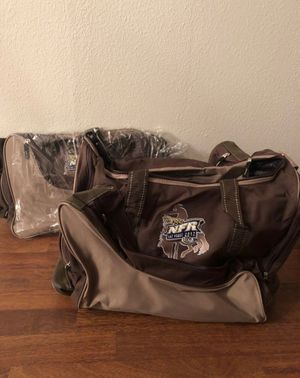 New 2012 NFR boot duffle bag $15 x2 for Sale in Garland, TX