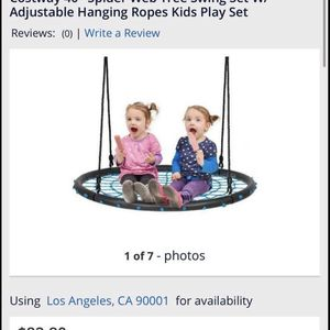 """New 40"""" Spider Web Tree Swing for Sale in Whittier, CA"""