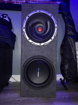 Subwoofer 12inch's for Sale in Los Angeles, CA