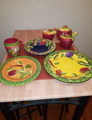 Fruit Themed Dish Set for Sale in Berwyn Heights, MD