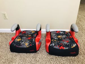 Evenflo AMP Select Backless Booster Car Seat for Sale in Little Rock, AR