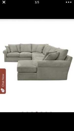 comfortable &stunning feather doss|| 4pc sectional coach low price!!! for Sale in Los Angeles, CA