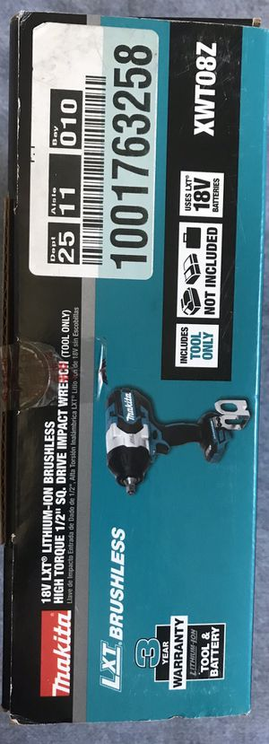 Makita 1/2 impact wrench for Sale in Los Angeles, CA
