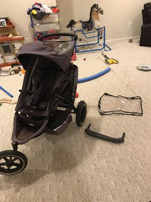 Phil and Ted's e3 double stroller for Sale in Manassas, VA