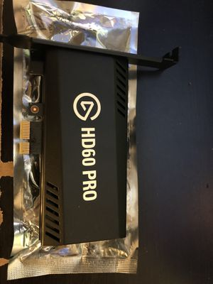Elgato HD 60 Pro Game capture LIKE NEW for Sale in Queens, NY