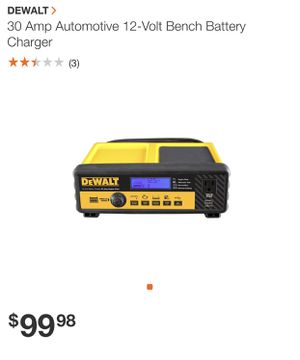 30 amp bench battery charger for Sale in San Bernardino, CA
