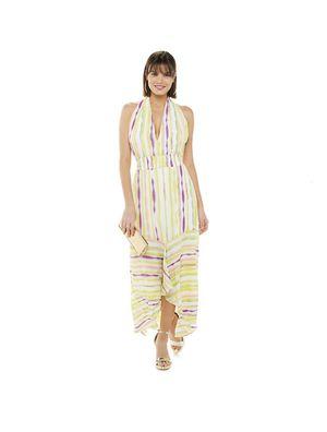 NWT JENNIFER LOPEZ V-NECK HALTER MAXI DRESS SIZE MEDIUM for Sale in Gaithersburg, MD