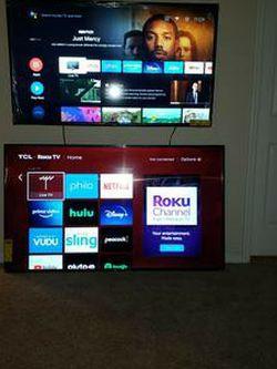 55 Inch 4K Roku TV for Sale in Tampa,  FL
