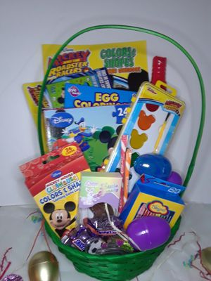 MICKEY MOUSE JR EASTER GIFT BASKET for Sale in Fayetteville, NC