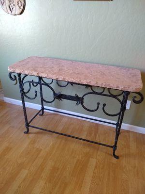 Vintage Live Edge Stone Console Table for Sale in Mesa, AZ