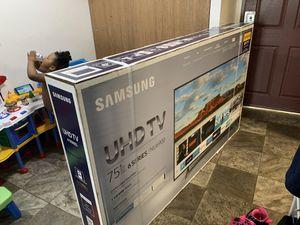 Samsung 75inch 4K UHD HDR for Sale in Grand Rapids, MI