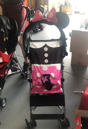 Minnie Mouse stroller like new for Sale in Lehigh Acres, FL
