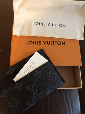 Louis Vuitton Card Holder pouch Eclipse Monogram New Unisex for Sale in New York, NY