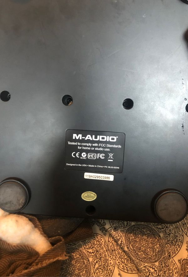 M Audio X Session Pro with Keyboard