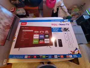 "TCL ROKU 55"" TV for Sale in Winsted, MN"