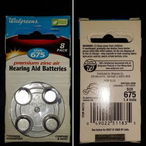 Hearing Aid Batteries size 675 for Sale in Bolingbrook, IL